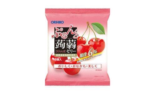 ORIHIRO Purunto Konnyaku Jelly — порционное желе из конняку
