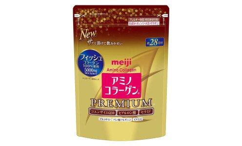 MEIJI Amino Collagen Premium — коллагеновая смесь, сменный блок 196g