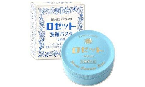 ROSETTE Medicated — паста для умывания для сухой и чувствительной кожи.