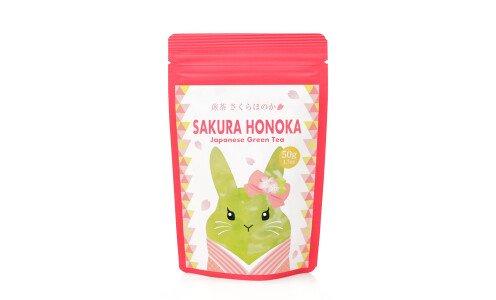 HITOKOTO Sakura Honoka - органический сенча с натуральным ароматом сакуры