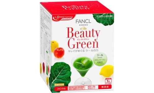 FANCL Beauty Green — аодзиру с коллагеном и церамидами