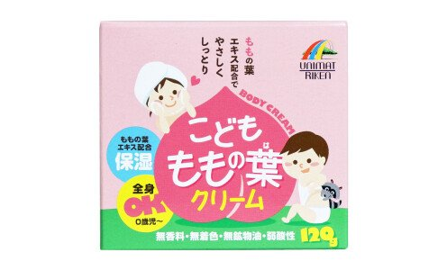 UNIMAT RIKEN Kids Peach Leaf Cream — детский крем