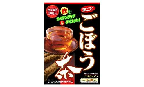YAMAMOTO 100% Burdock Tea — чай из корня лопуха